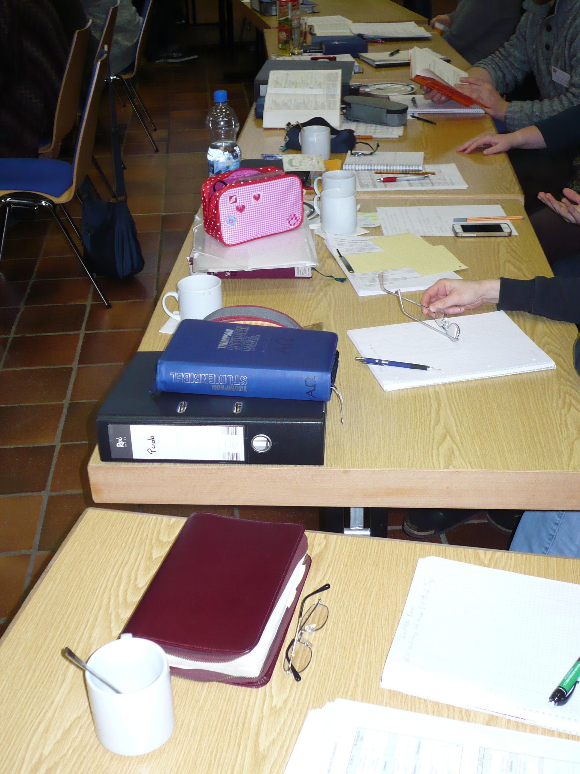 Bibeltage mit Kurt Schneck, Schloss Klaus, 15.- 18. November 2021